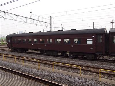 スハ43系(スハフ42 2173)。