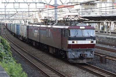 EH500貨物(3054レ)。