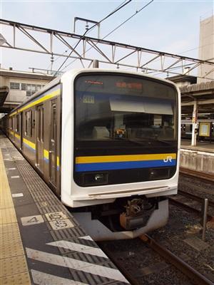 鹿島&成田線209系2000番代。