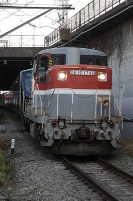 DE10&相鉄12000系甲種輸送。