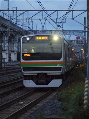 湘南新宿ラインE231系。