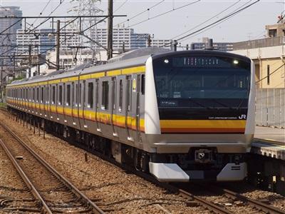 南武線E233系8000番代。