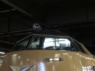 485系(クハ481)運転席。